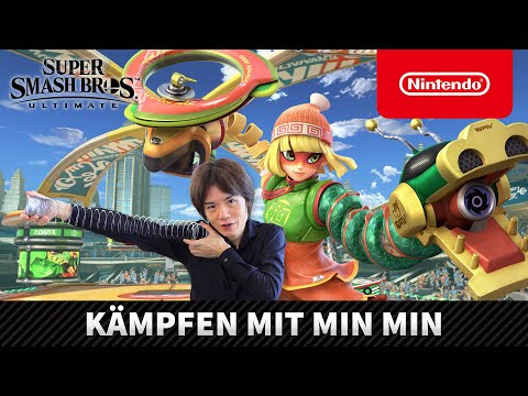 Super Smash Bros. Ultimate – Kämpfen mit Min Min (Nintendo Switch)