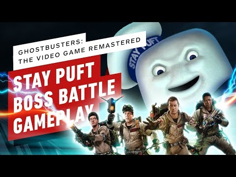 Ghostbusters: The Video Game Remastered – Stay Puft Boss Fight Gameplay