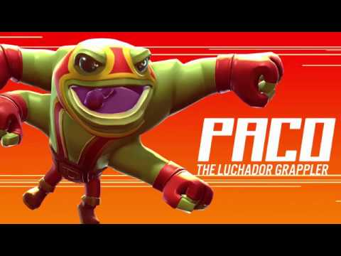 Brawlout - Paco Character Reveal Trailer