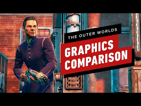 The Outer Worlds Graphics Comparison - Nintendo Switch vs High-End PC