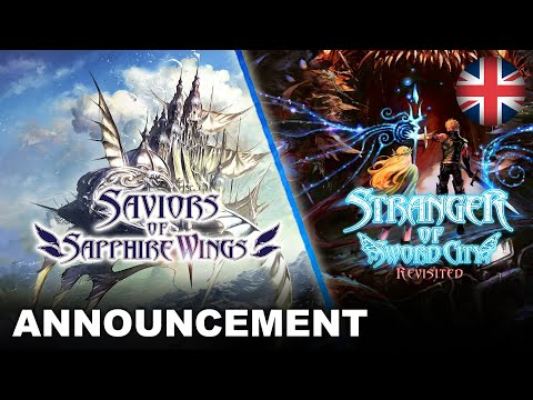 Saviors of Sapphire Wings/Stranger of Sword City Revisited - Announcement Trailer (EU - English)
