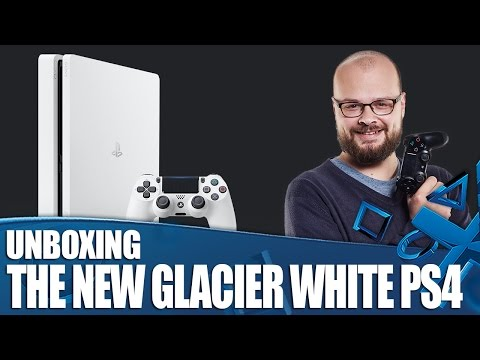 New Glacier White PS4 Unboxing