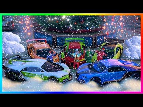 GTA ONLINE CHRISTMAS DLC 2016 NEW GTA 5 FESTIVE SURPRISE UPDATE - SNOW HYPE, MAKING MILLIONS & MORE!