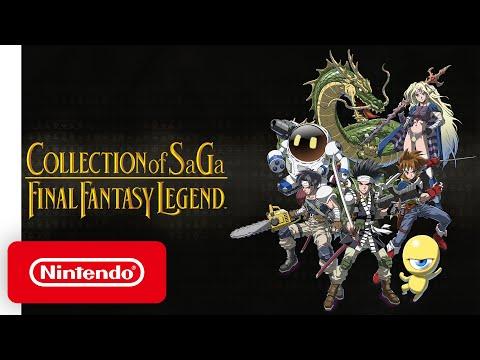 COLLECTION of SaGa FINAL FANTASY LEGEND - Announcement Trailer - Nintendo Switch