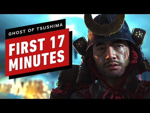 The First 17 Minutes of Ghost of Tsushima Gameplay