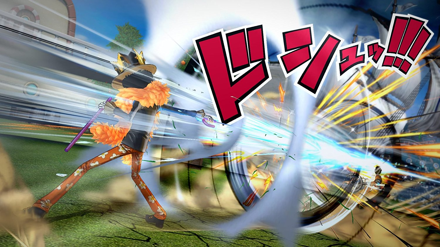 Review One Piece Burning Blood Sony Ps4